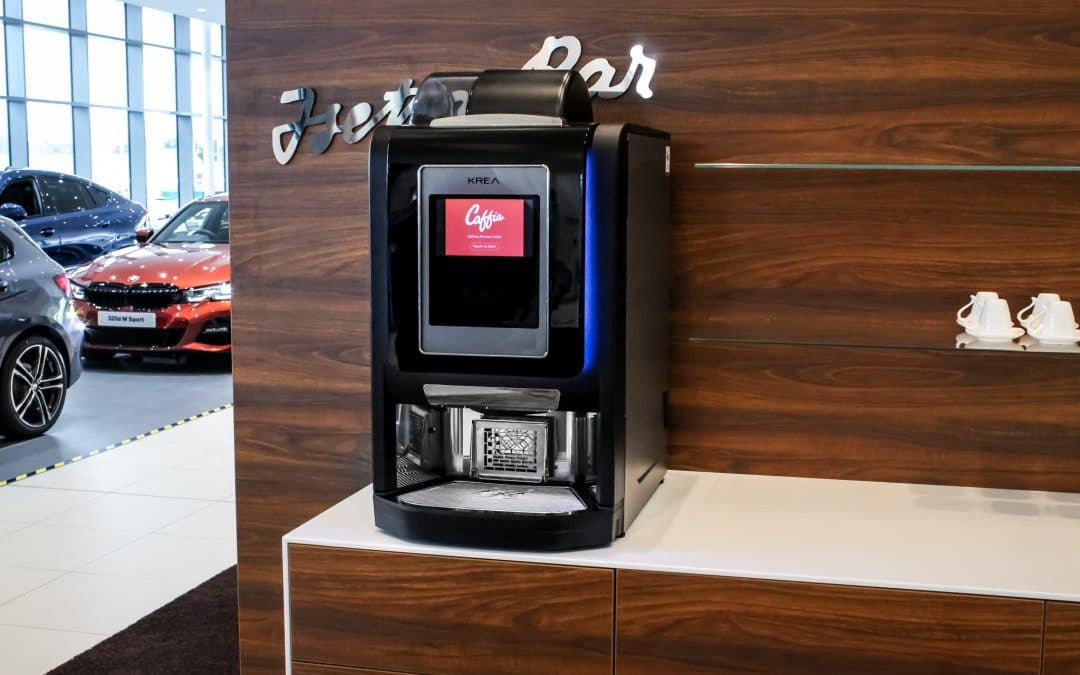 Table Top Coffee Vending Machine
