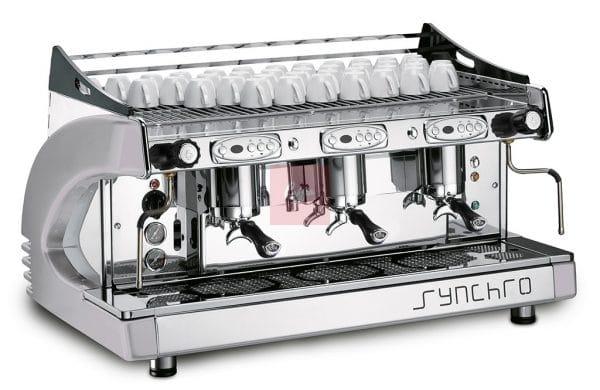 Synchro 3 Group Espresso Coffee Machine