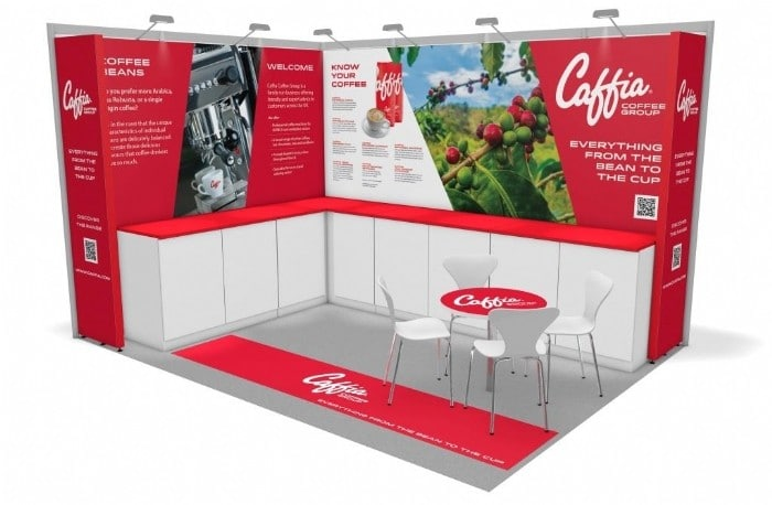 Caffia Coffee Group Exhibition Stand Design Revealed