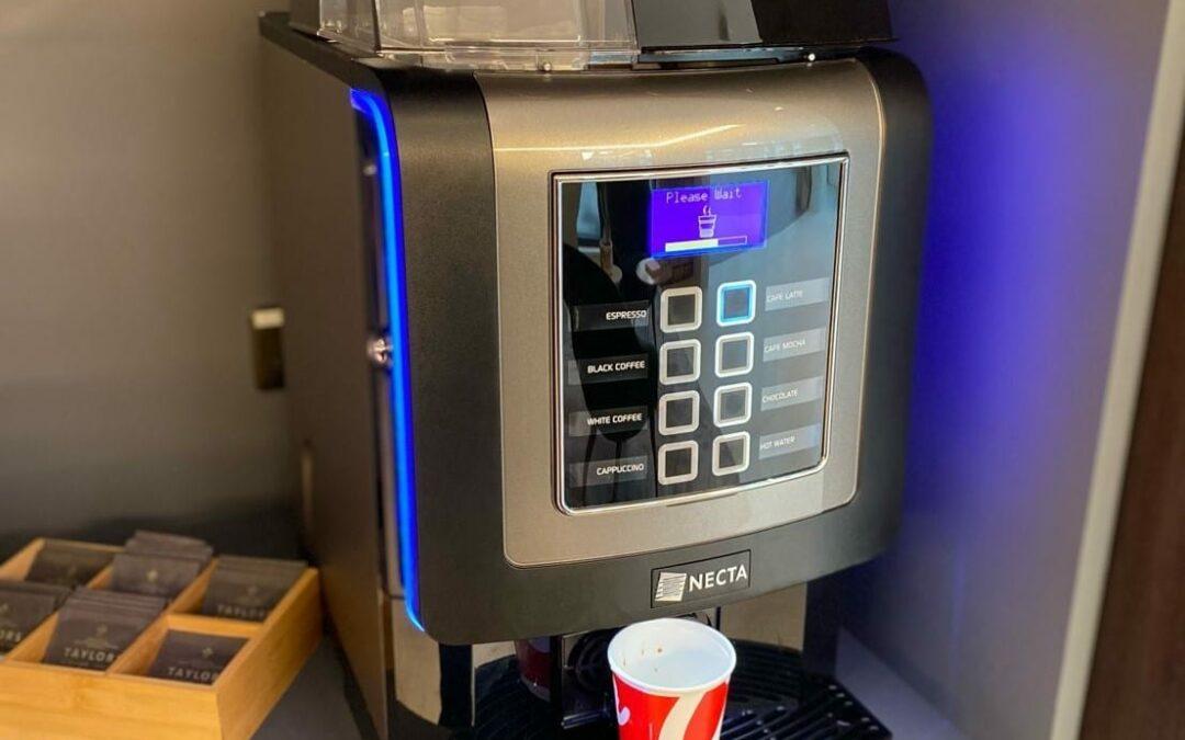 Convenience Store Coffee Machine