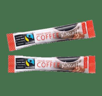 Decaffeinated Instant Coffee Sticks