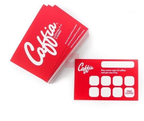 Caffia Loyalty Cards