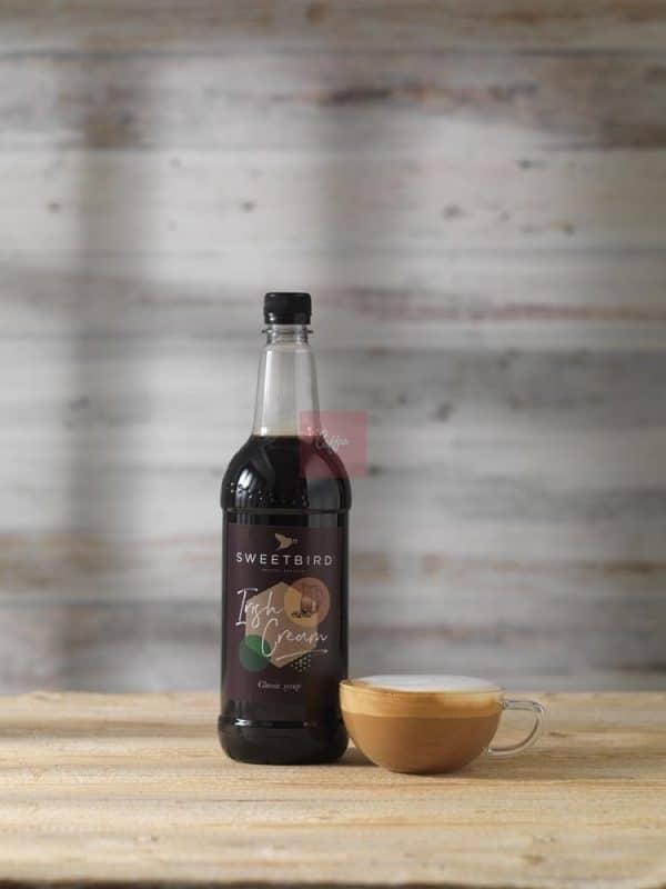 Irish Cream syrup cappuccino