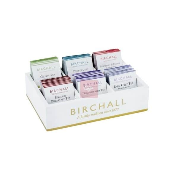 birchall teas 6 compartment-box