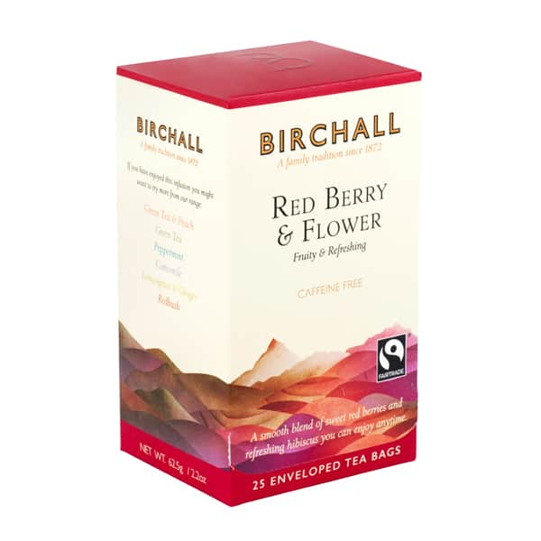birchall red berry flower 25 enveloped tea bags side top 600x600 1