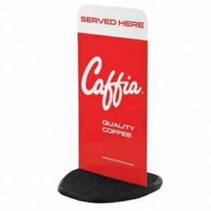 Caffia Pavement Sign