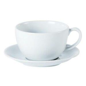 cappucino cup 9oz plain crk102