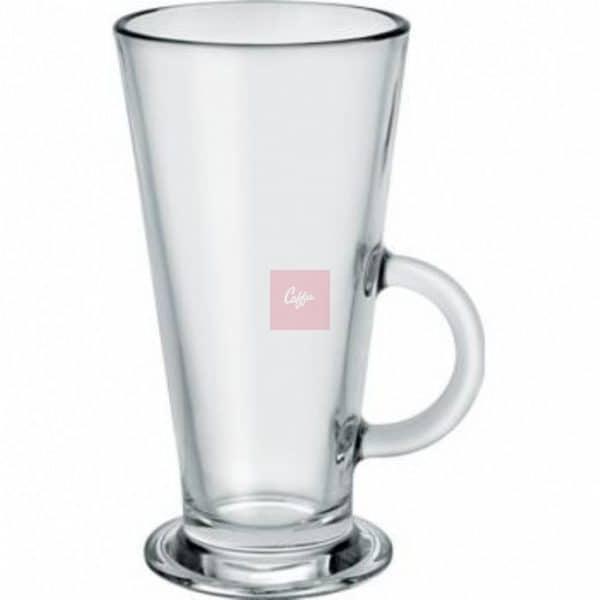 V-Shaped Catalina Latte Glass 9oz