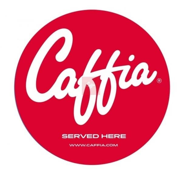 Caffia Window Sticker