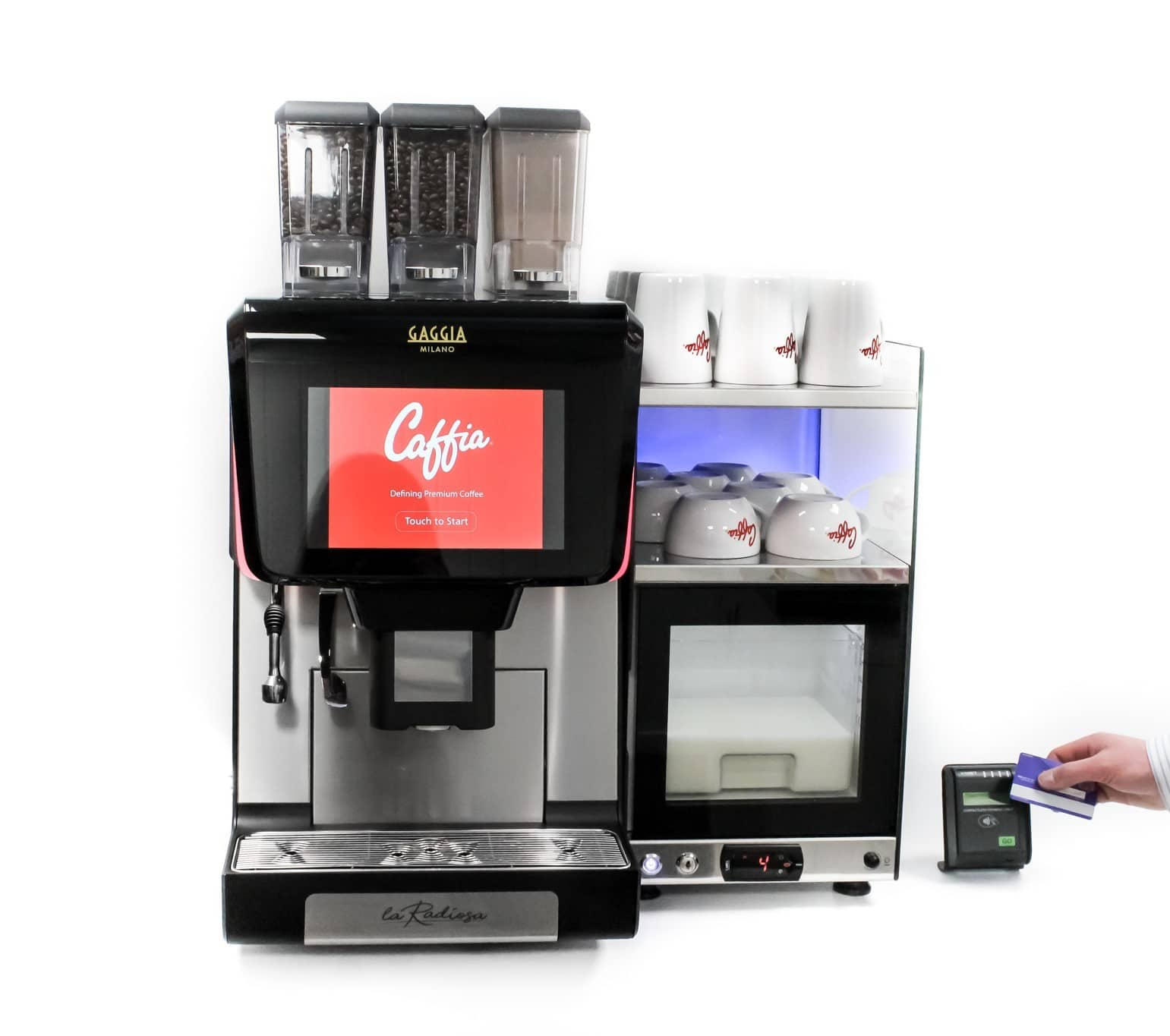 Contactless Payment Coffee Machine