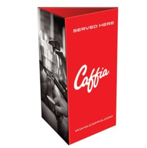 Caffia Table Card