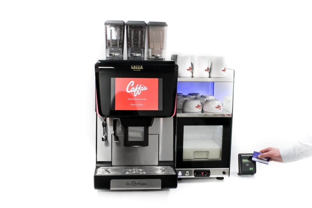 Coffee Machine With Contactless Payment