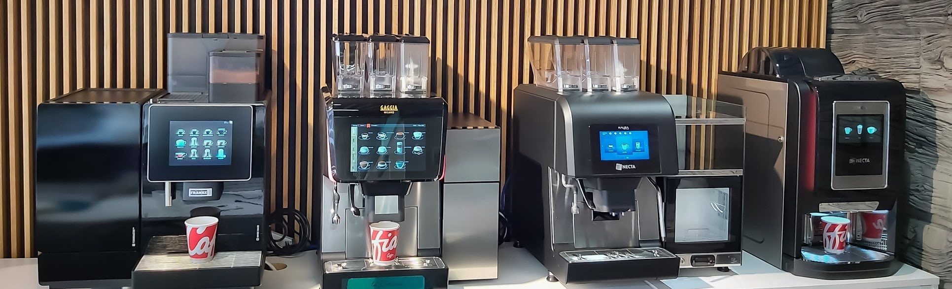 Coffee Machines London Showroom