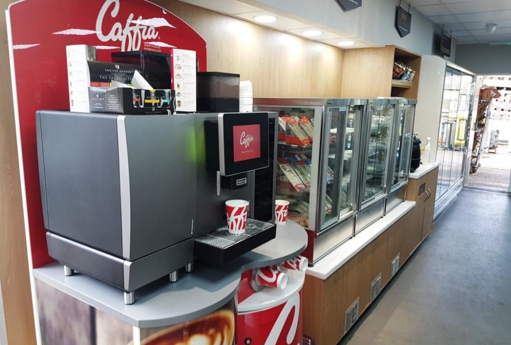 Convenience Store Coffee Machines